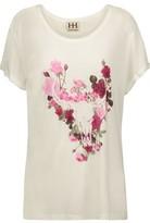 Haute Hippie Printed Modal-Jersey T-Shirt