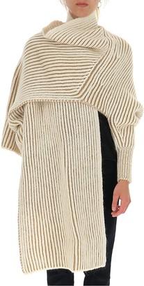 Chloé Knitted Scarf Cardigan