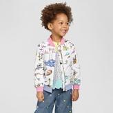 Genuine Kids Toddler Girls' Dr. Seuss Bomber Jacket Genuine Kids from OshKosh® - Fresh White