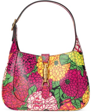 Gucci Ken Scott print Jackie 1961 small hobo bag