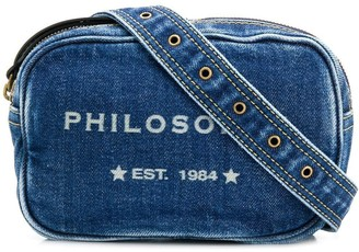 Philosophy di Lorenzo Serafini logo denim belt bag