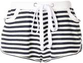 Natasha Zinko drawstring stripe shorts
