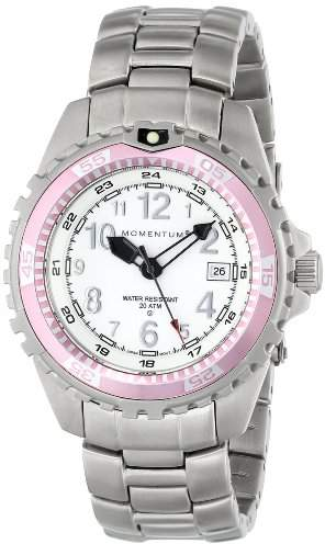 Momentum M1 Twist Women's Quartz Watch with White Dial Analogue Display and Silver Stainless Steel Bracelet 1M-DV11WR0