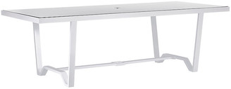 """Lane Venture Biscayne Outdoor 94"""" Dining Table - White"""