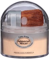Physicians Formula Mineral Wear Talc-Free Loose Powder, Buff Beige, 0.49 Ounce