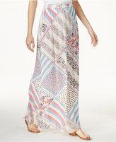 Tommy Hilfiger TOMMYXGIGI Silk Printed Maxi Skirt