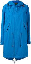 Mr & Mrs Italy - hooded parka coat - women - Cotton - XXS