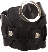 Temperley London Stud-Embellished Waist Belt
