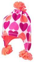 Crazy 8 Heart Microfleece Hat