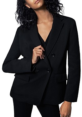 Thumbnail for your product : b new york Recycled Minimalist Knit Blazer