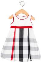Burberry Girls' Nova Check Pleated Dress