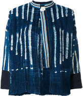 Forte Forte striped denim jacket - women - Cotton - 1