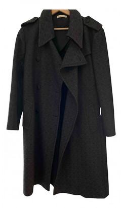 Celine Black Cotton Trench coats