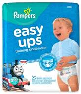 Pampers Easy Ups Size 3-4T 23-Count Boy's Training Underwear