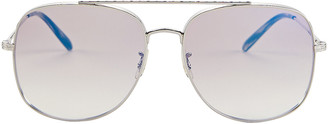 Oliver Peoples Taron Double Bridge Sunglasses