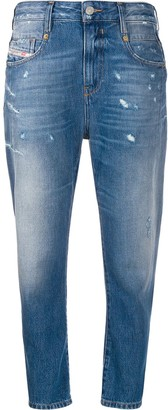 Diesel Fayza boyfriend fit denim jeans
