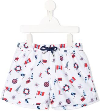 Sunuva Printed Swim Shorts