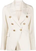 1901 Circolo fitted buttoned blazer