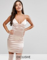 Club L Satin Cami Mini Dress