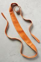 Anthropologie Papaya Wrap Belt