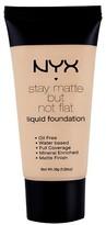 NYX Stay Matte Not Flat Foundation Soft Beige 1.18Fl Oz