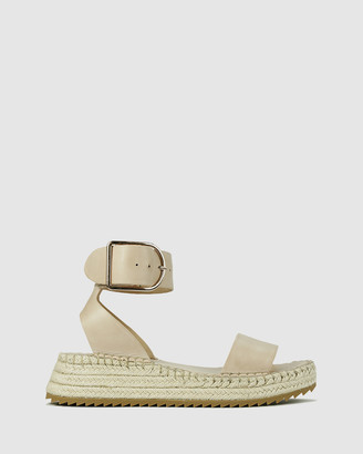 EOS Women's Neutrals Sandals - Larah - Size One Size, 37 at The Iconic