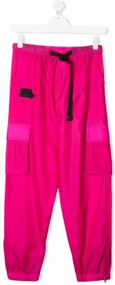 Cinzia Araia Kids TEEN tapered-leg cargo trousers