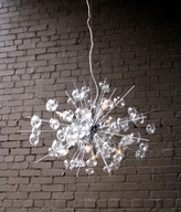 The Well Appointed House Bubbles Chandelier in Chrome