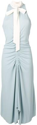 Ssheena Ruched Midi Dress