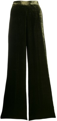 Etro high-waisted wide-leg trousers