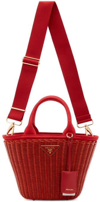 0e5decc31f3f Prada Woven Bags - ShopStyle