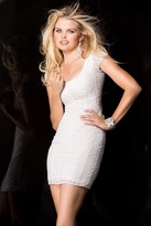 Scala 48599ML Dress In Ivory