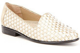 Trotters Liz Woven Detailed Loafers