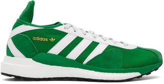 adidas x Human Made Green Tokio Solar Sneakers