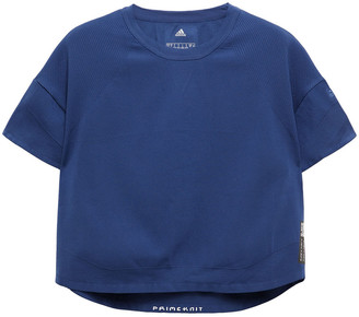 adidas Cropped Knitted T-shirt