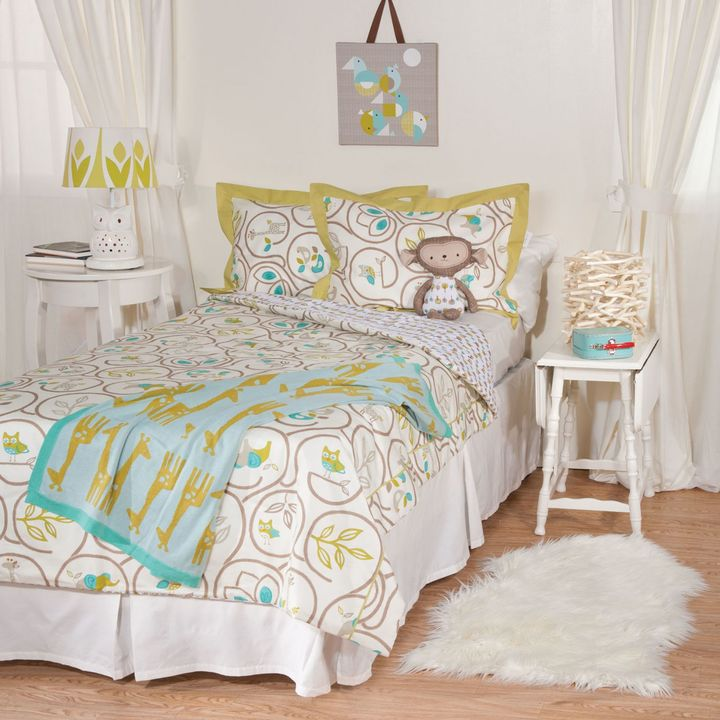 Lolli Living by Living Textiles Baby Twin Bedding Collection - Animal Tree