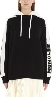 Moncler Logo Side Striped Hoodie