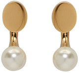 Chloé Gold Darcey Round Earrings