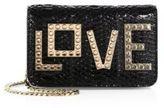 Les Petits Joueurs Love Patent Leather Evening Bag