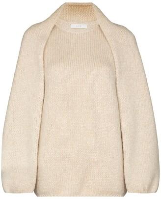 LVIR Bolero Mohair Sweater Set