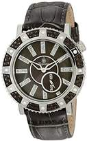 Burgmeister Women's Quartz Watch with Grey Dial Analogue Display and Grey Leather Bracelet BM802-199