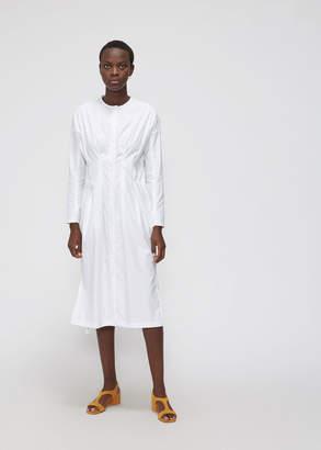 Zero Maria Cornejo Pintuck Shirt Dress
