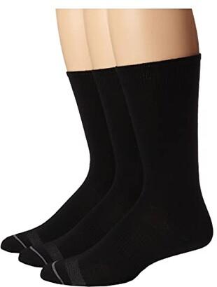 Smartwool Anchor Line 3-Pair Pack (Chestnut) Men's Crew Cut Socks Shoes