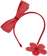 Wee Ones Herringbone Headband Bundle - Red-One Size