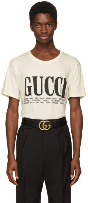 Gucci Off-White Cities T-Shirt