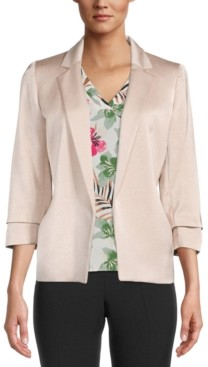Bar III Open Front Blazer, Created for Macy's