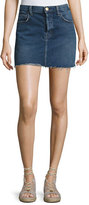 Current/Elliott The Mini Cutoff Denim Skirt, Reese