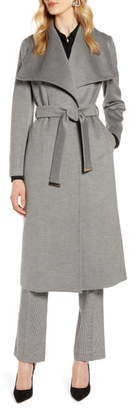 Ted Baker Wide Collar Brushed Wrap Coat