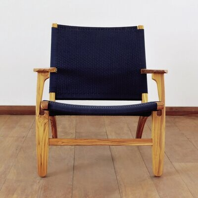 """Thumbnail for your product : Masaya & Co Abuelo 33"""" Wide Polyester Armchair"""