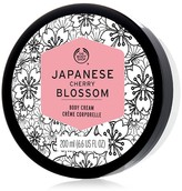 The Body Shop Japanese Cherry Blossom Body Cream Moisturizer